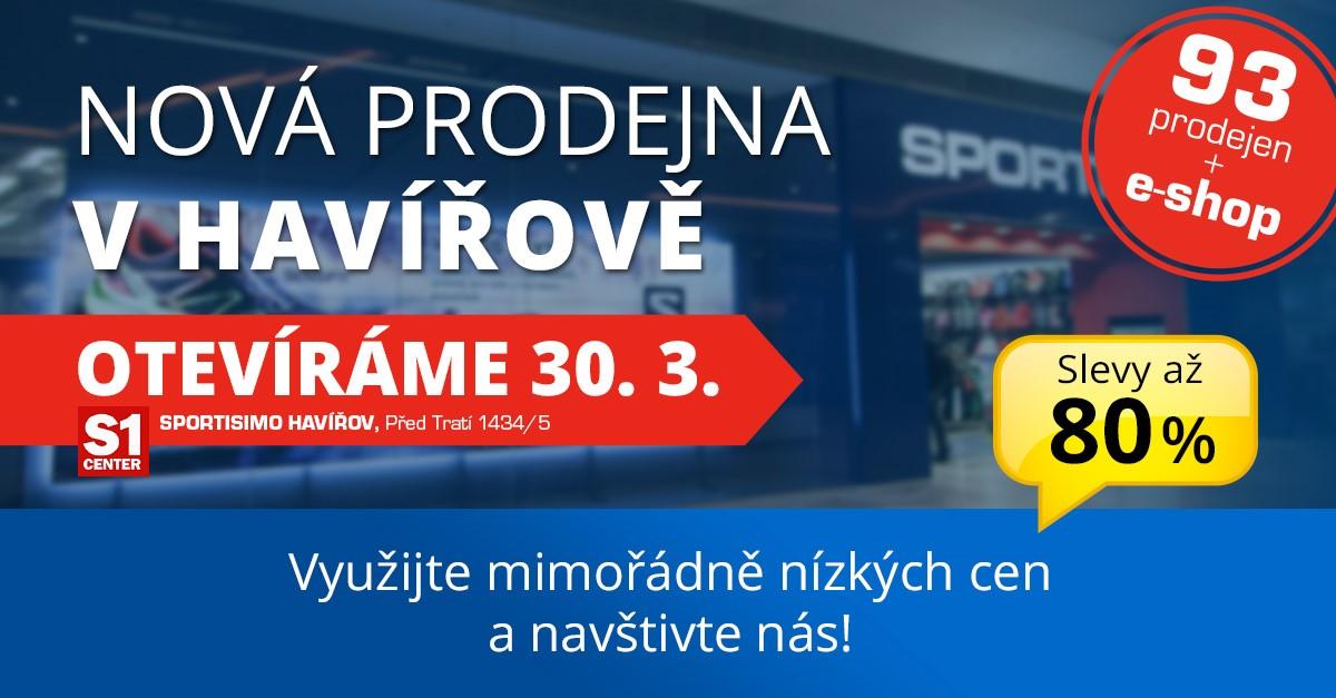 Nová prodejna v HAVÍŘOVĚ otevírá 30. 3.