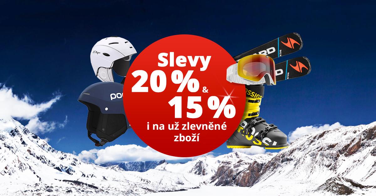Dny Klubu SPORTISIMO: Až 20% slevy na lyžařské vybavení a oblečení