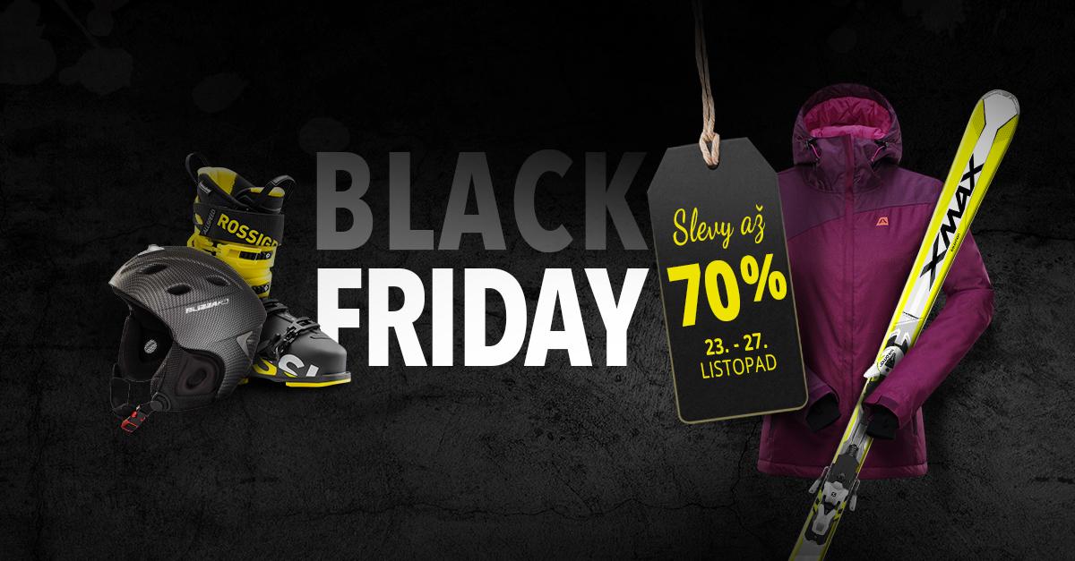 BLACK FRIDAY: 5 dní až 70% SLEV u stovek druhů zboží 23.-27.11.