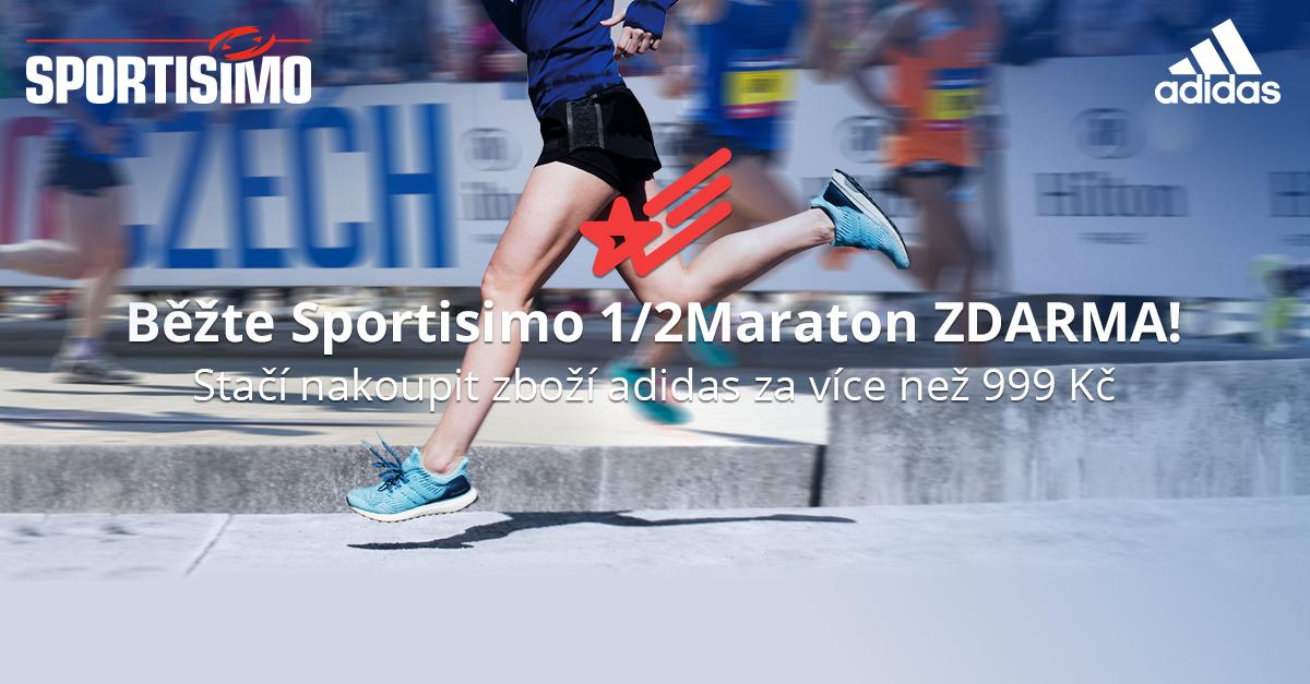 SOUTĚŽTE o startovné ZDARMA na Sportisimo 1/2Maraton Praha 2018