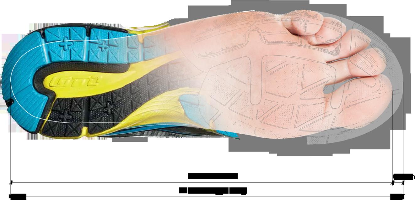 e1e1c01941d Výběr správné velikosti je klíčový při nákupu běžecké obuvi. Pokud kliknete  na velikost