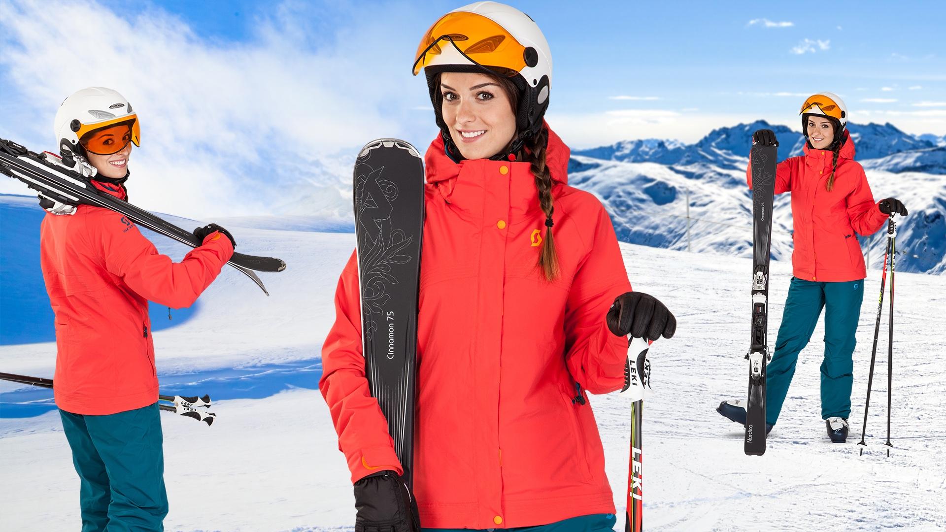 Dámský lyžařský set Scott