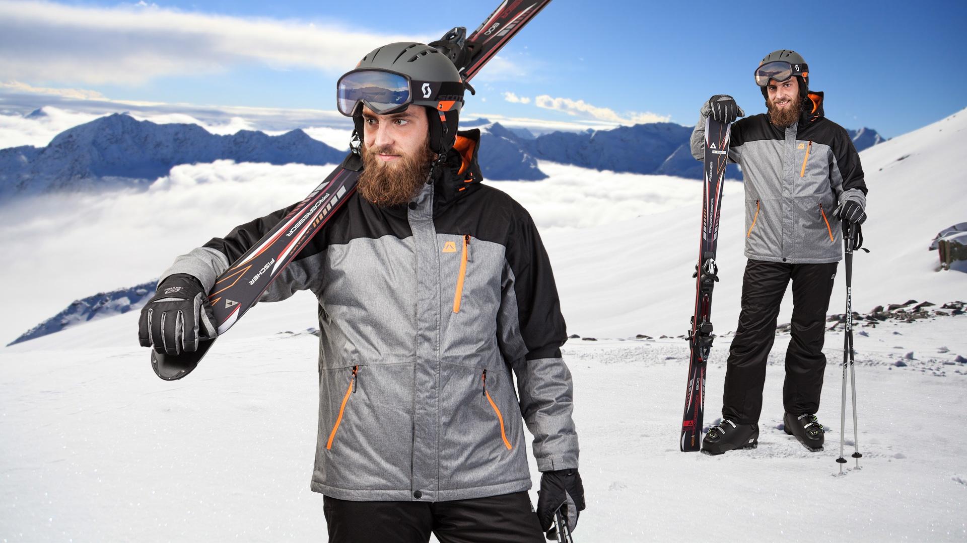 Pánský lyžařský set Alpine Pro