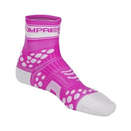 RUN HI FLUO - Běžecké ponožky - Compressport RUN HI FLUO - 1
