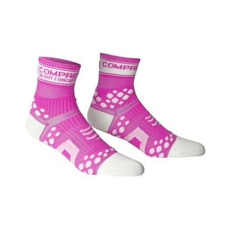 RUN HI FLUO - Běžecké ponožky - Compressport RUN HI FLUO - 2