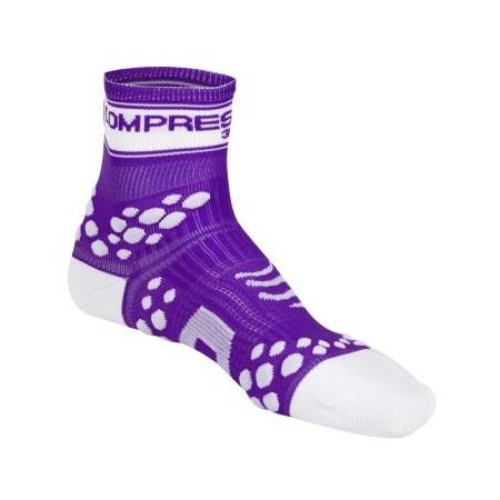 RUN HI FLUO - Běžecké ponožky - Compressport RUN HI FLUO - 3