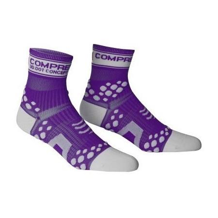 RUN HI FLUO - Běžecké ponožky - Compressport RUN HI FLUO - 4