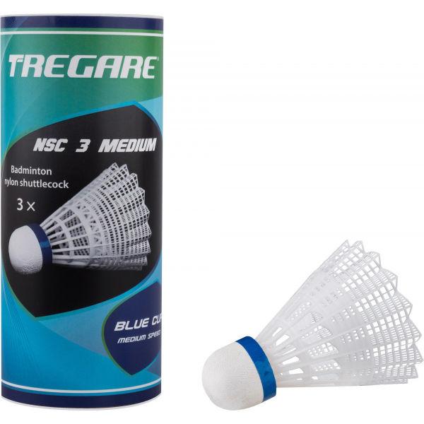 Tregare NSC 3 MEDIUM WHITE - Badmintonové míčky