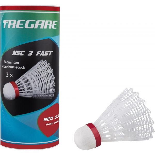 Tregare NSC 3 FAST WHITE - Badmintonové míčky