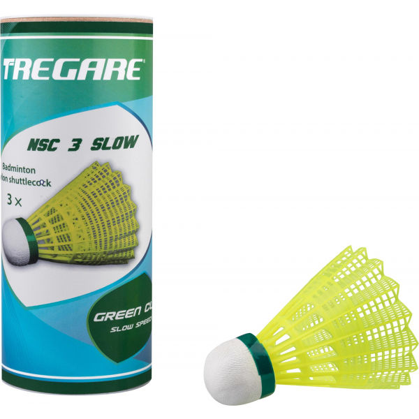 Tregare NSC 3 SLOW YELLOW - Badmintonové míčky