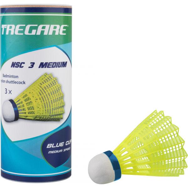 Tregare NSC 3 MEDIUM YELLOW - Badmintonové míčky