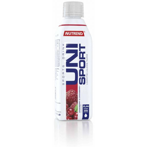 Nutrend UNISPORT 0,5L MALINA BRUSINKA - Sportovní nápoj