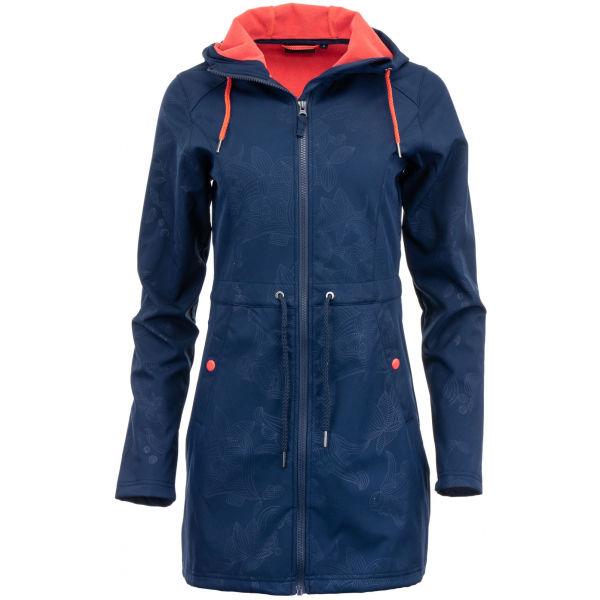 ALPINE PRO CATLICOPA - Dámský softshellový kabát