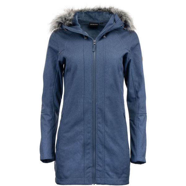 ALPINE PRO DUMUZA - Dámský softshellový kabát