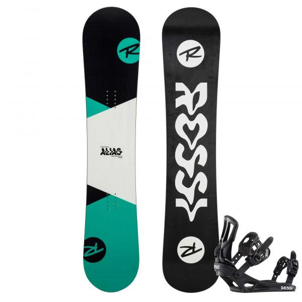 Rossignol ALIAS + BATTLE S/M - Dětský snowboard set