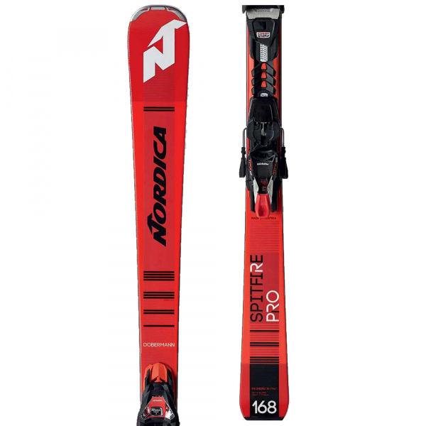 Nordica SPITFIRE PRO + TPX12 - Sjezdové lyže
