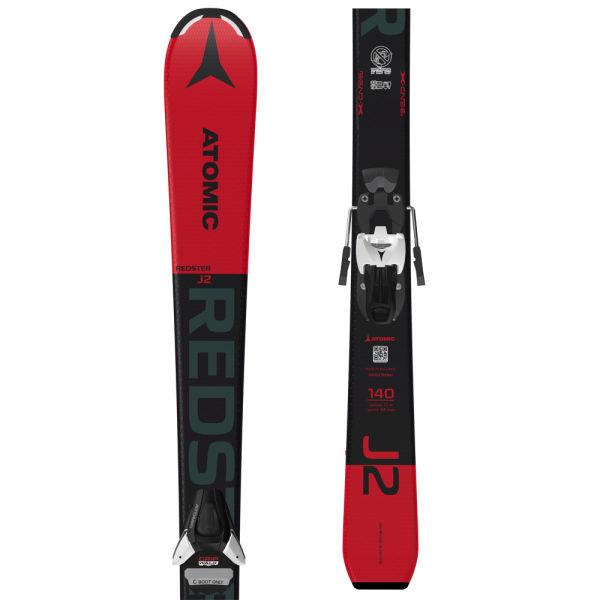 Atomic REDSTER J2 130-150 + COLT 5 GW - Dětské sjezdové lyže