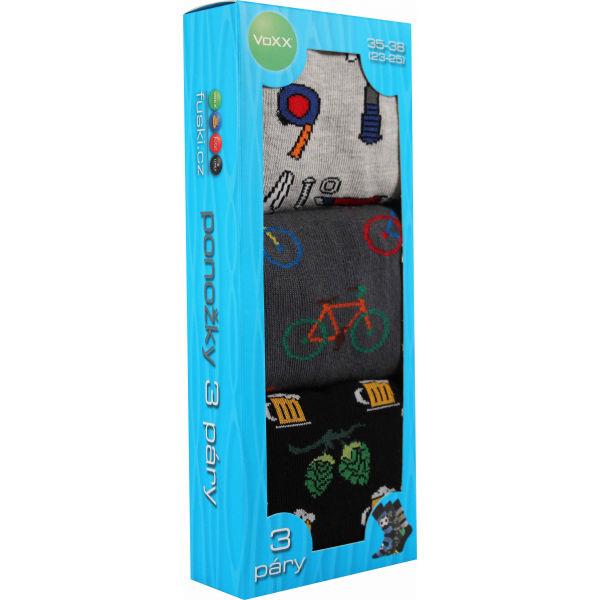 Voxx BOX 20 BLK - Pánské ponožky