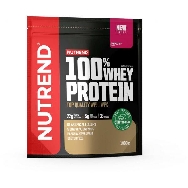 Nutrend 100% WHEY PROTEIN 1000 g JAHODA - Protein