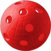 Unihoc BALL CRATER RED 3 KS - Florbalový míček