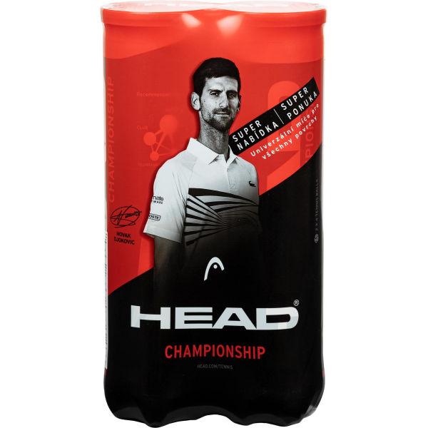 Head BIPACK CHAMPIONSHIP - Tenisové míče