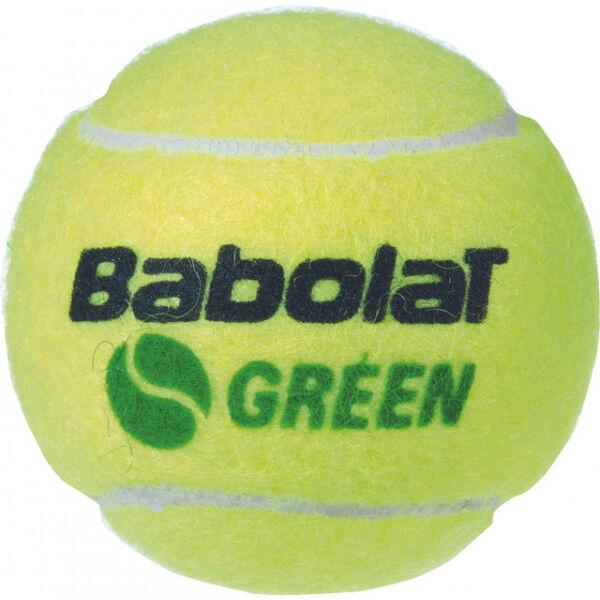 Babolat GREEN X3 - Tenisové míče