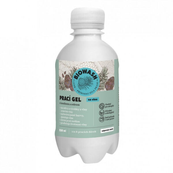 Bio Wash Prací gel s cedrem a lanolínem - Prací gel