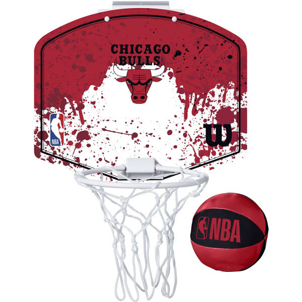 Wilson NBA MINI HOOP BULLS - Mini basketbalový koš
