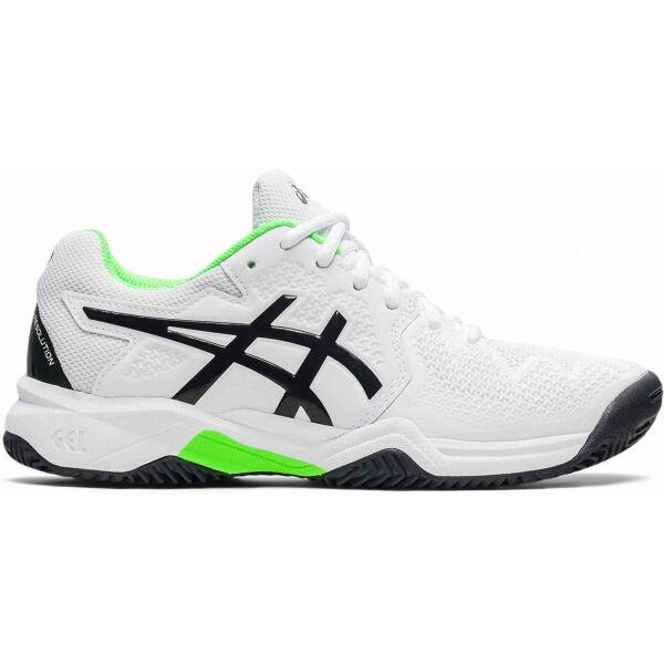 Asics GEL-RESOLUTION 8 GS CLAY - Dětská tenisová obuv