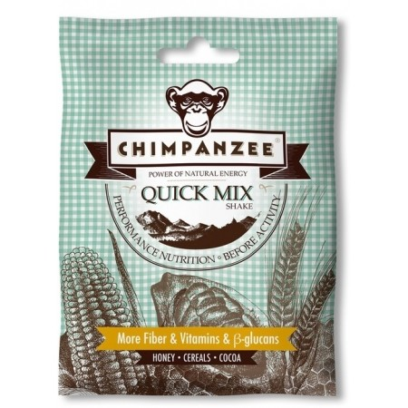 Energetický koktejl - Chimpanzee QUICK MIXSHAKE HONEY 42G