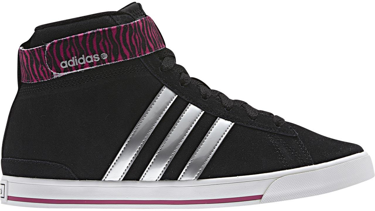 newest 590e9 a690a ... shoe trainers grey leopard greece adidas bbneo daily twist mid w  leather f2347 24fc4 ...