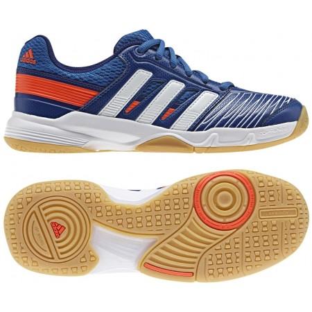 Dětská indoorová obuv - adidas COURT STABIL ELITE XJ - 1