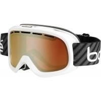 Bolle BUMPY WHITE CARBON - Sjezdové/snowboardové brýle