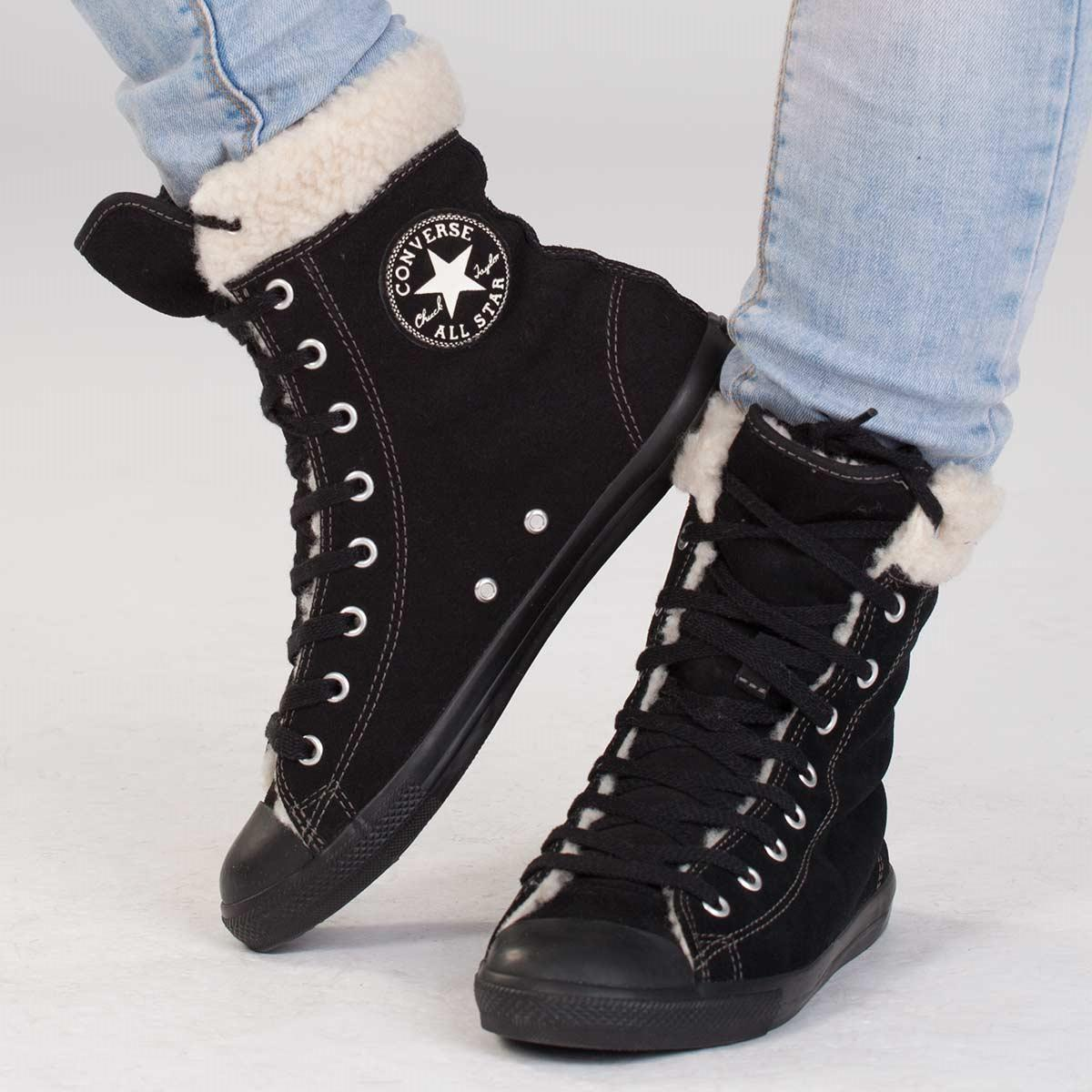 Converse CHUCK TAYLOR ALL STAR DAINTY. Dámská zimní obuv ... 51b3c288051