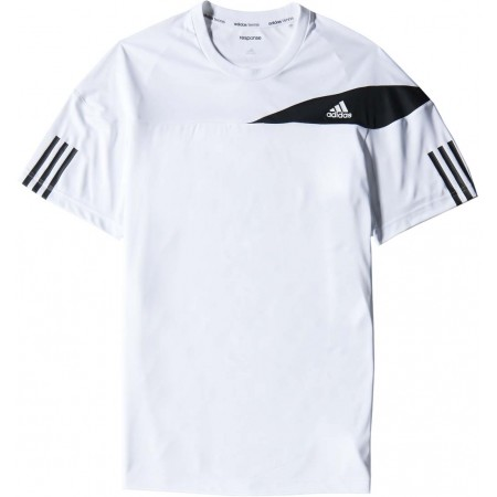 Pánské tenisové tričko - adidas RESPONSE TEE - 1