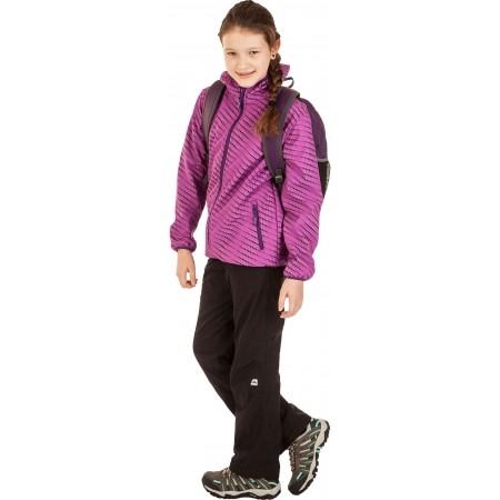 Dětské zateplené kalhoty - Alpine Pro ARGYLE - 5