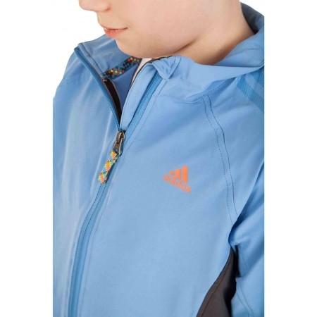 Chlapecká outdoorová bunda - adidas BOYS MIDSKY JACKET - 4