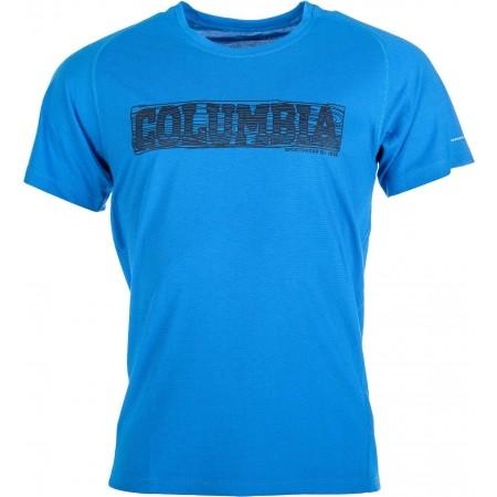 Pánské triko s krátkým rukávem - Columbia MOUNTAIN TECH LOGO SS CREW - 1