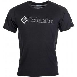 Columbia MOUNTAIN TECH LOGO SS CREW - Pánské triko s krátkým rukávem