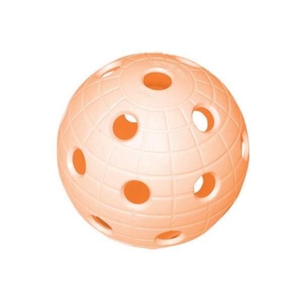Unihoc MATCH BALL CRATER WFC ORG - Florbalový míček