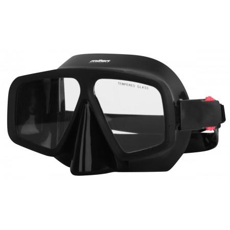 MEDUSA BLACK - Bezrámová potápěčská maska - Miton MEDUSA BLACK