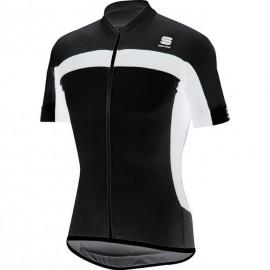Sportful PISTA LONGZIP JERSEY - Pánský cyklistický dres
