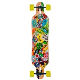 Miller TRAVEL 38 STICKERS - Longboard
