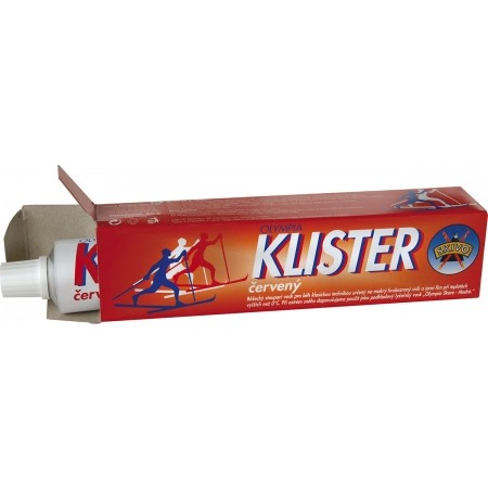KLISTER ČERVENÝ - Klister na běžecké lyže - Skivo KLISTER ČERVENÝ