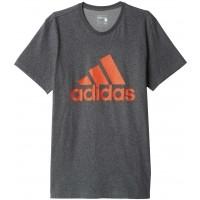 adidas LOGO TEE1 - Pánské sportovní tričko