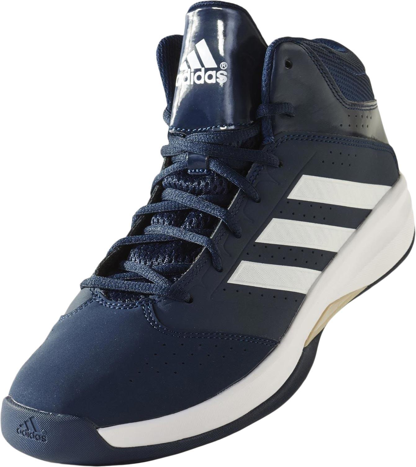 White Basketball Shoes Adidas