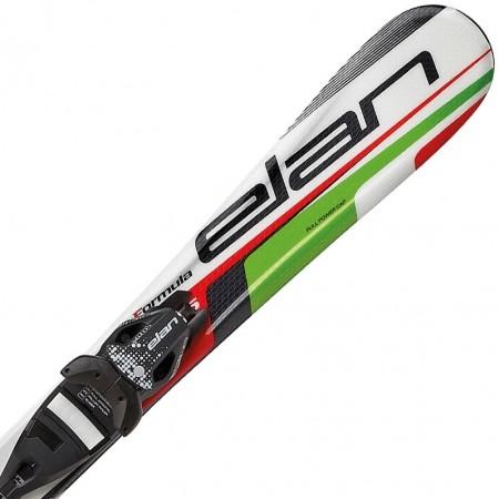 Dětské sjezdové lyže - Elan FORMULA GREEN 70-90 + EL 4.5 VRT - 1
