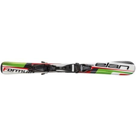 Dětské sjezdové lyže - Elan FORMULA GREEN 100-130 + EL 4.5 VRT - 2