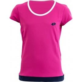 Lotto T-SHIRT PIPER W G - Dívčí sportovní triko