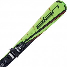 Elan RC RACE + EL 7.5 QT - Dětské sjezdové lyže